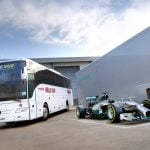 49 Seater Mercedes F1